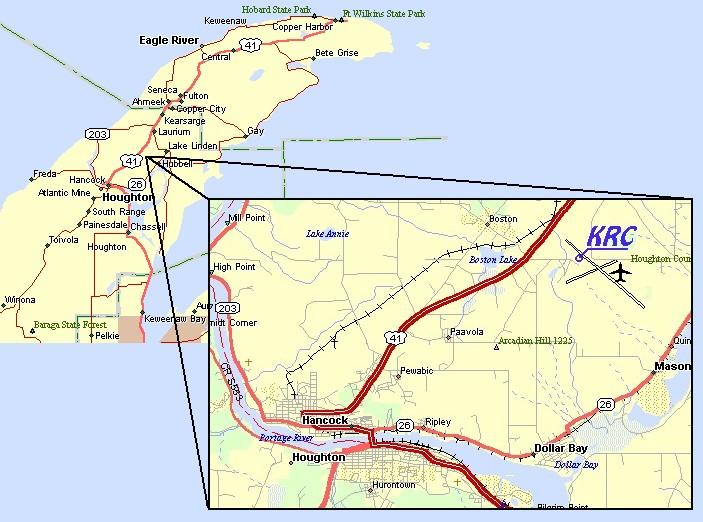 Mtu Keweenaw Research Center Location
